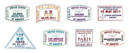 passeport: A�roports les plus fr�quent�s timbres de passeport le top 10 mondial de