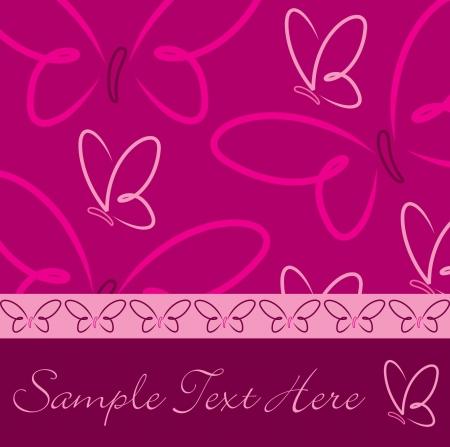 fuchsia: Todas las tarjetas de mariposa ocasi?n en formato vectorial