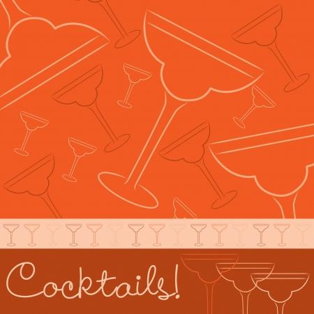despedida de soltera: Dibujado a mano la tarjeta de c?les en formato vectorial