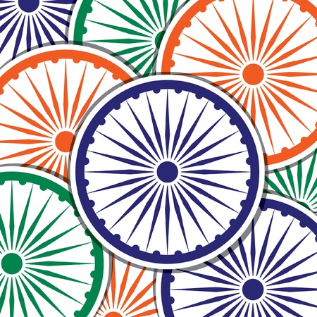 Happy Independence Day India card in vector format  Vector