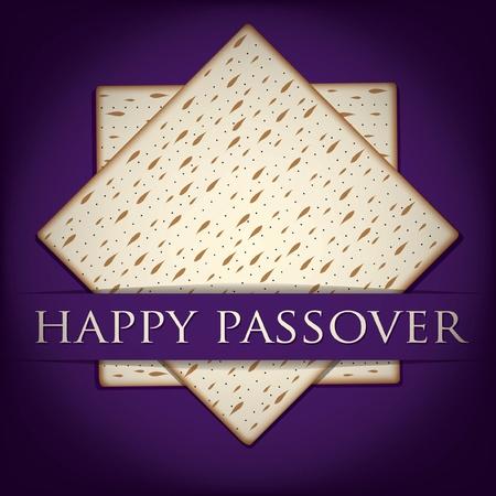 Happy Passover card in vector format  Stock Vector - 19469937