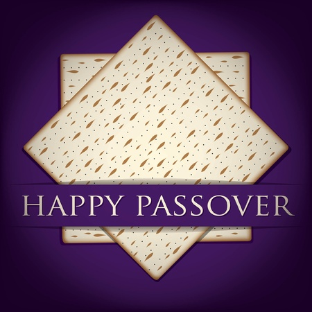 Happy Passover card in vector format Stock Vector - 19469937