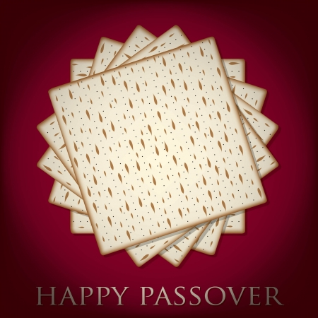 Happy Passover card in vector format Stock Vector - 19469969