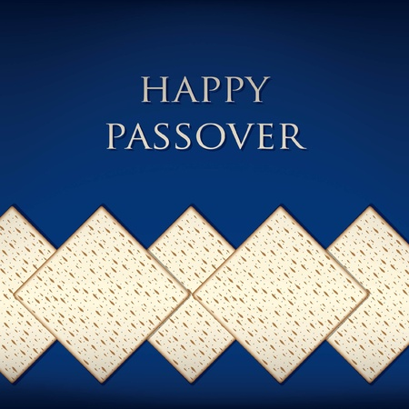 Happy Passover card in vector format
