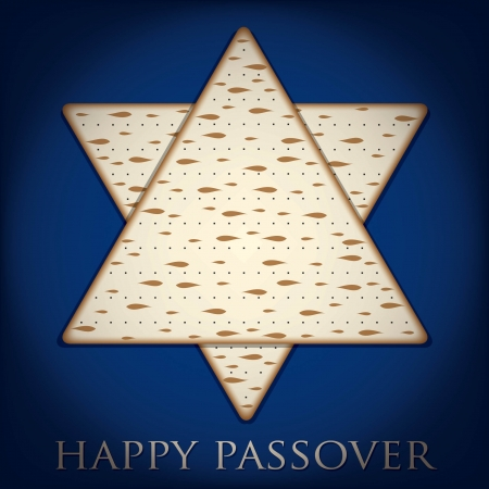 hasidic: Happy Passover card in vector format  Illustration