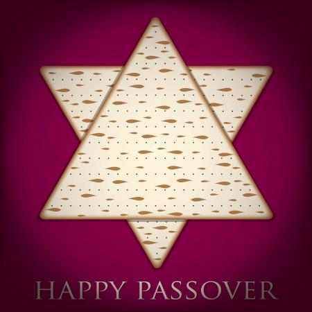 pesah: Happy Passover card in vector format  Illustration