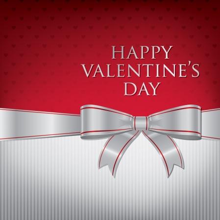 burgundy ribbon: Day Card Bow Valentino s