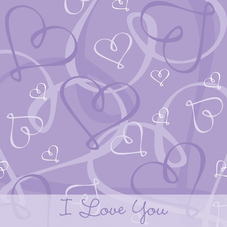 relative: Hand Drawn heart textured card background in vector format