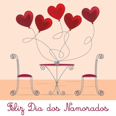 Cafe Valentine s Day Card