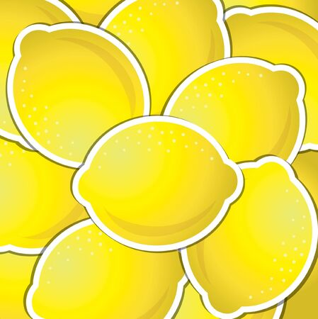 citrus tree: Lim�n fondo sticker
