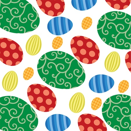 Easter egg backgrounds  Vector
