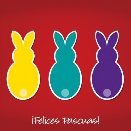portuguese: Portuguese Easter Bunny card