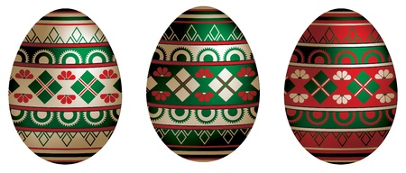 paskha: Russian style Easter eggs