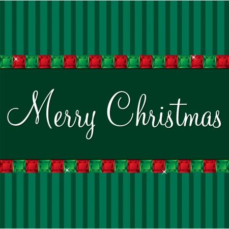peridot: Gem Merry Christmas card