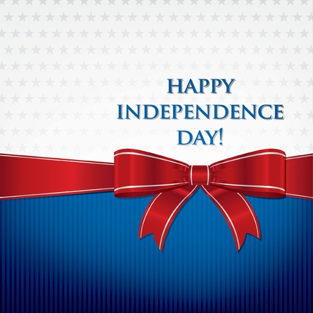 july: Independence Day  4th of July  card