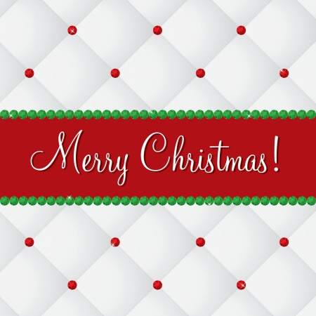 Merry Christmas bling card Vector