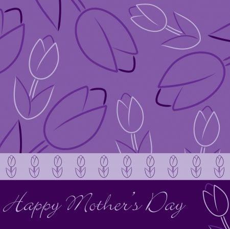 mother s:  Happy Mother s Day  tulip card
