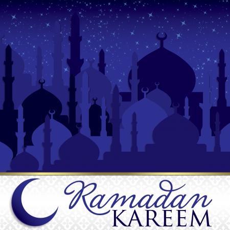 Ramadan Kareem   Generous Ramadan  card in vector format  Vector