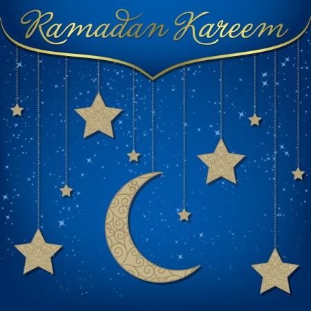 generoso: Ramad�n tarjeta de Ramad�n Kareem Generoso en formato vectorial