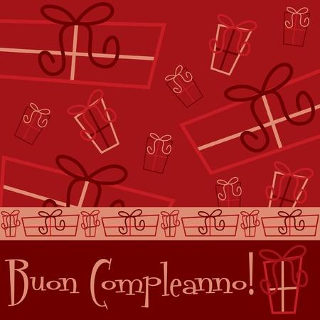 Bright  Happy Birthday  card in vector format  Vector