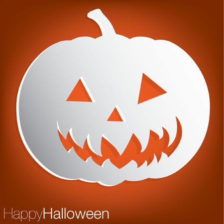 jack o: Jack o  Lantern Halloween Card