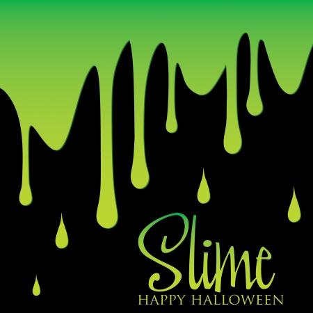 slime: Slime card in vector format