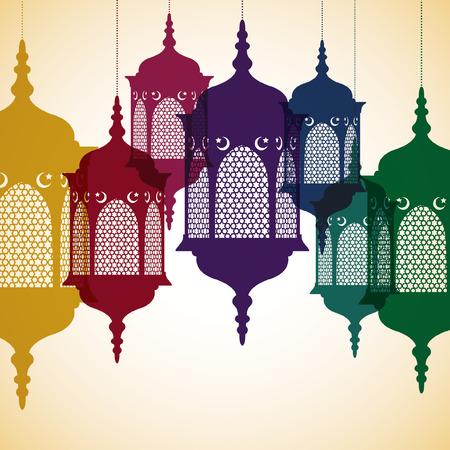 ramadan kareem: Lantern  Ramadan Kareem   Generous Ramadan  card in vector format  Illustration