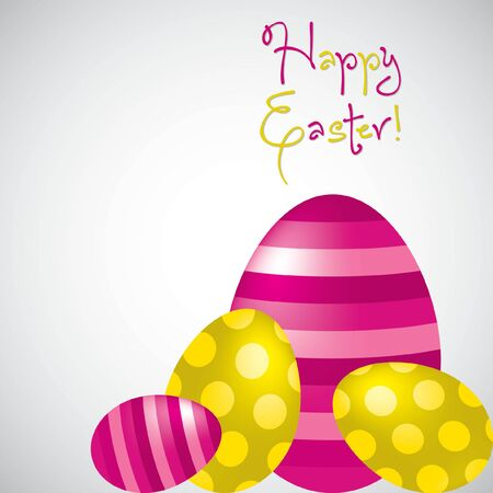 chocolate background: Happy Easter egg card in vector format. Illustration