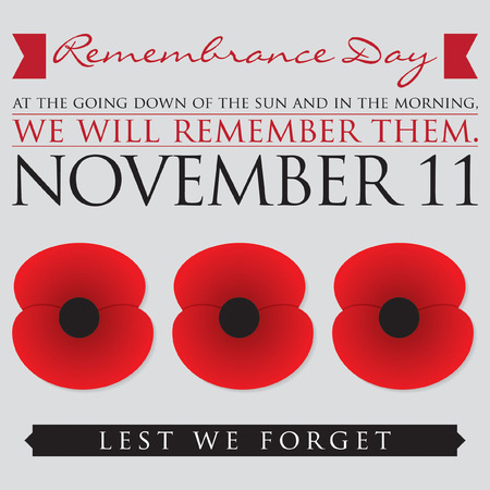 1,874 Remembrance Day Stock Vector Illustration And Royalty Free ...