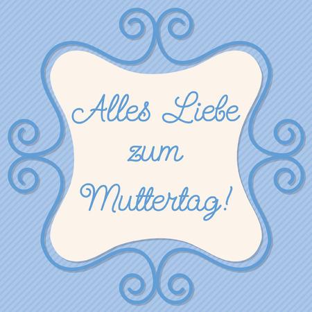 doodle frame: German doodle frame card