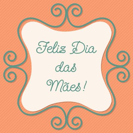 portuguese: Portuguese doodle frame card
