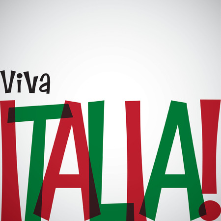 italia: Italian Republic Day card in vector format.