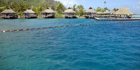 otemanu: View of Bora Bora, Society Islands, French Polynesia. Editorial