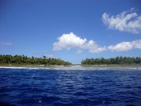 otemanu: View of Bora Bora, Society Islands, French Polynesia. Stock Photo