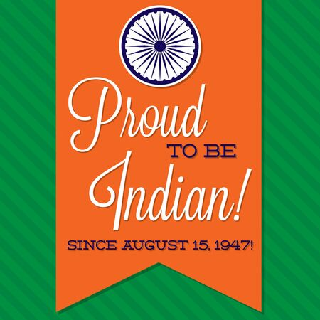 sash: Sash Indian Independence Day card in vector format.