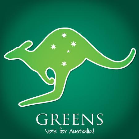 senate: Australian Election card in vector format.