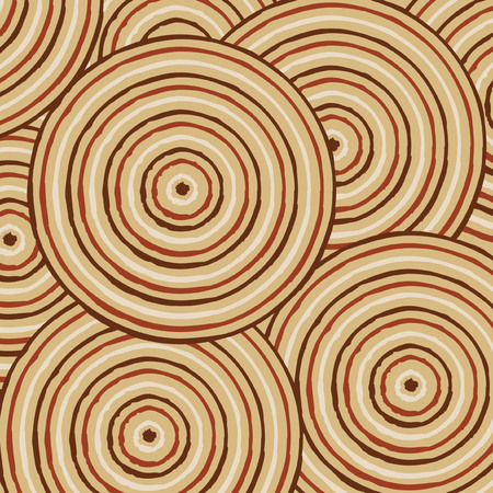 outback australia: Abstract Aboriginal line painting in vector format.