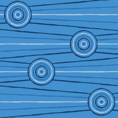 aboriginal: Abstract Aboriginal line painting in vector format.