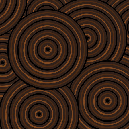 australian culture: Abstract Aboriginal line painting in vector format.