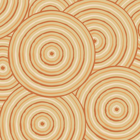 australian outback: Abstract Aboriginal line painting in vector format.