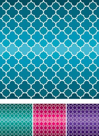 azul turqueza: patrón de tejido de Marruecos en formato vectorial.