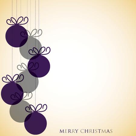 nakładki: Overlay Christmas baubles in vector format.