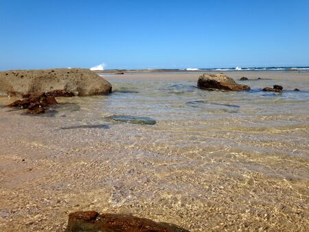Waterfront scene of Newcastle, NSW Central Coast Australia. Stock Photo - 83586061