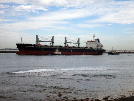 Scenes of the Port of Newcastle, NSW Australia. Editorial