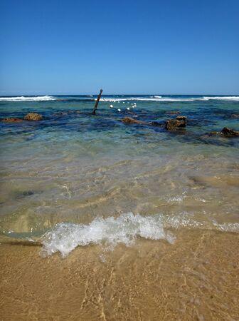 Waterfront scene of Newcastle, NSW Central Coast Australia. Stock Photo - 83545002