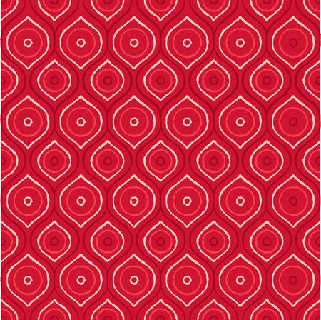Pintura abstracta de puntos aborígenes en formato vectorial Ilustración de vector