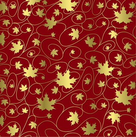 Thanksgiving fall leaf background in vector format.