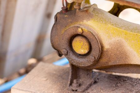 Water pump with oil leaked use in Thailand. Stock fotó