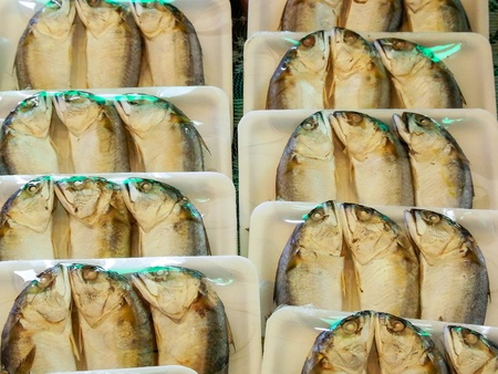 from the Gulf of Thailand  and be  made to be delicious steamed fish.