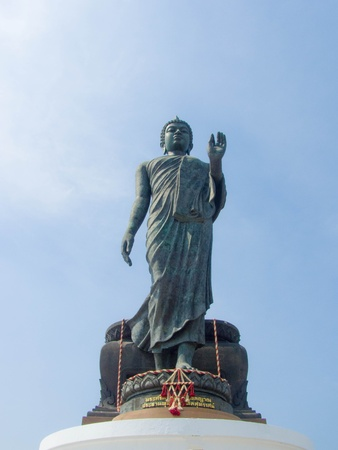 the outstanding Buddha Statue in Buddhist province , Nakhon Pathom province